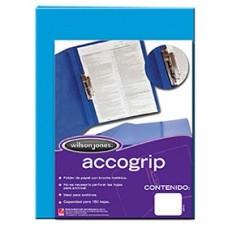 CARPETA ACCOGRIP  C/PALANCA OFICIO AZUL CLARO   PZA.     [E4 C48]