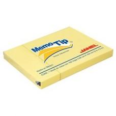 BLOCK NOTAS MEMOTIP JANEL 3 X 2   AMARILLO      100 HOJAS [E12 C144]
