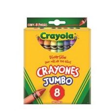 CRAYON CRAYOLA JUMBO C/8                      [C144]