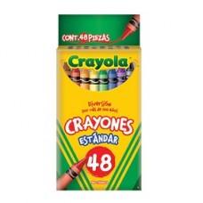 CRAYON CRAYOLA STANDAR C/48                   [E6  C24 ]