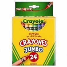 CRAYON CRAYOLA JUMBO C/24                     [E6 C72]