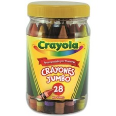 CRAYON CRAYOLA JUMBO FCO/28 PZAS              [E6 C24]