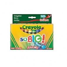 CRAYON CRAYOLA SOBIG C/12   PZA (E12)
