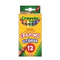 CRAYON CRAYOLA STANDAR C/12                   [E6  C144]