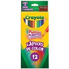 COLORES CRAYOLA C/12  LARGOS                  [E12 C48]