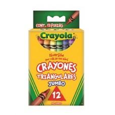 CRAYON CRAYOLA TRIANGULAR  C/12               [E6  C72]