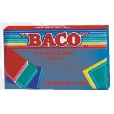 PLASTILINA BACO MARQUETA #56 AZUL OBSCURO          [C100]