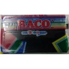 PLASTILINA BACO MARQUETA #61 NEGRA                 [C100]