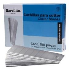 CUCHILLA DE REPUESTO P/CUTTER GRANDE 10 PZAS.         [C10]