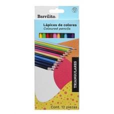 COLORES BARRILITO TRIANGULAR  C/12 LARGOS 3120             [C100]