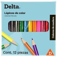 COLORES DELTA C/12 CORTOS 7573                    [C200]