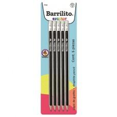 LAPIZ BARRILITO TRIANGULAR HB BLISTER C/5 PZAS        [E20 C240]