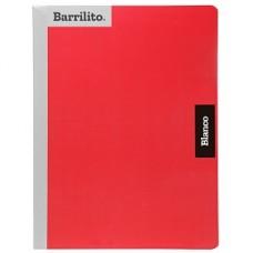 CUADERNO BARRILITO COSIDO PROFESIONAL BLANCO 100 HS PZA. [E28]