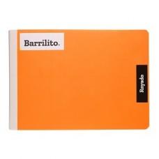 CUADERNO BARRILITO COSIDO ITALIANO RAYA  100 HS PZA.  [E48]