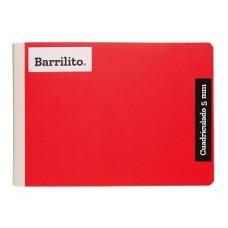 CUADERNO BARRILITO COSIDO ITALIANO C.5   100 HS PZA.  [E48]