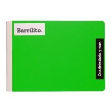CUADERNO BARRILITO COSIDO ITALIANO C.7   100 HS PZA.  [E48]