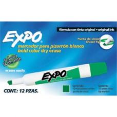 MARCADOR P/PIZARRON EXPO VERDE PZA                     [E12 C144]
