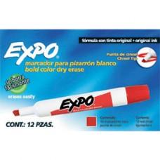 MARCADOR P/PIZARRON EXPO ROJO PZA                      [E12 C144]