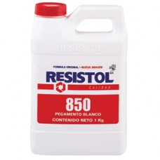 PEGAMENTO RESISTOL 850 BCO. 1 KG.    PZA.     [C12]