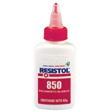 PEGAMENTO RESISTOL 850 BCO.  55 GRS. PZA.     [C96]