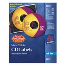 ETIQUETA AVERY INK-JET 8692  CD/ DVD 40                   [C5]