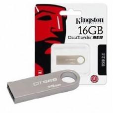 MEMORIA USB KINGSTON 16 GB DTSE9H PLATA PZA