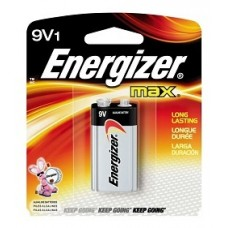 PILA ENERGIZER 9V   BLISTER C/1 522GB1 MAX ALCALINA    [E12]