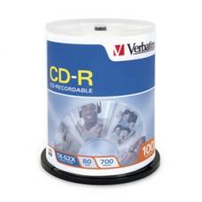 TORRE CD-R VERBATIM 80MIN C/100