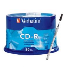 TORRE CD-R VERBATIM 80 MIN C/50