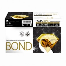 PAPEL FACIA BOND BLANCO CARTA  C/5000